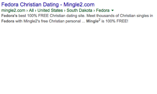 Free dating sites like mingle2