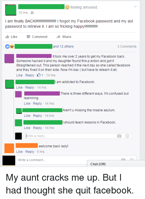 how to get back my old password on facebook