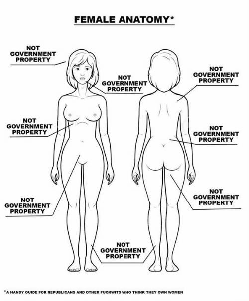 republicans: FEMALE ANATOMY*  NOT  GOVERNMENT  PROPERTY  NOT  GOVERNMENT  NOT  GOVERNMENT  PROPERTY  PROPERTY  NOT  GOVERNMENT  PROPERTY  NOT  GOVERNMENT  PROPERTY  NOT  GOVERNMENT  PROPERTY  NOT  GOVERNMENT  PROPERTY  NOT  GOVERNMENT  PROPERTY  A HANDY GUIDE FOR REPUBLICANS AND OTHER FUCKWITS WHO THINK THEY OWN WOMEN