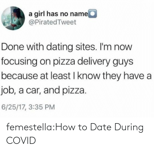 How To: femestella:How to Date During COVID