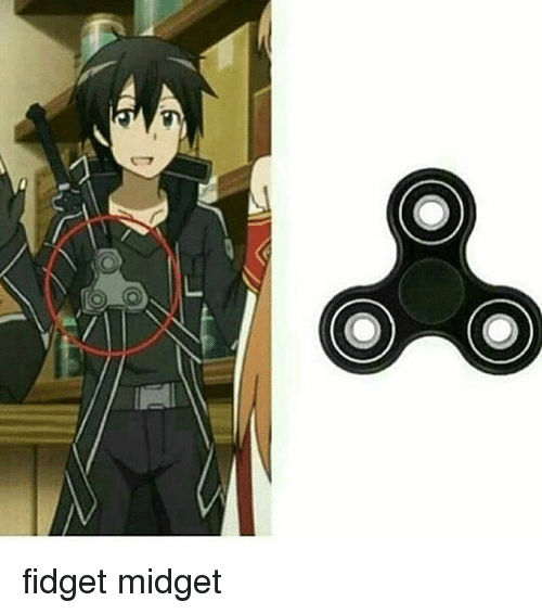 The Midget Likes To Fidget With The
