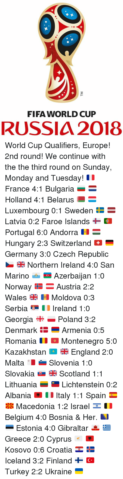 world cup qualifications europe