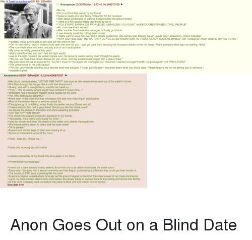 anon dating And this has probably happened repeatedly while they were dating before he was invited to join #55 to #51 - arolexion #103 on comments rank #103 reply +38.