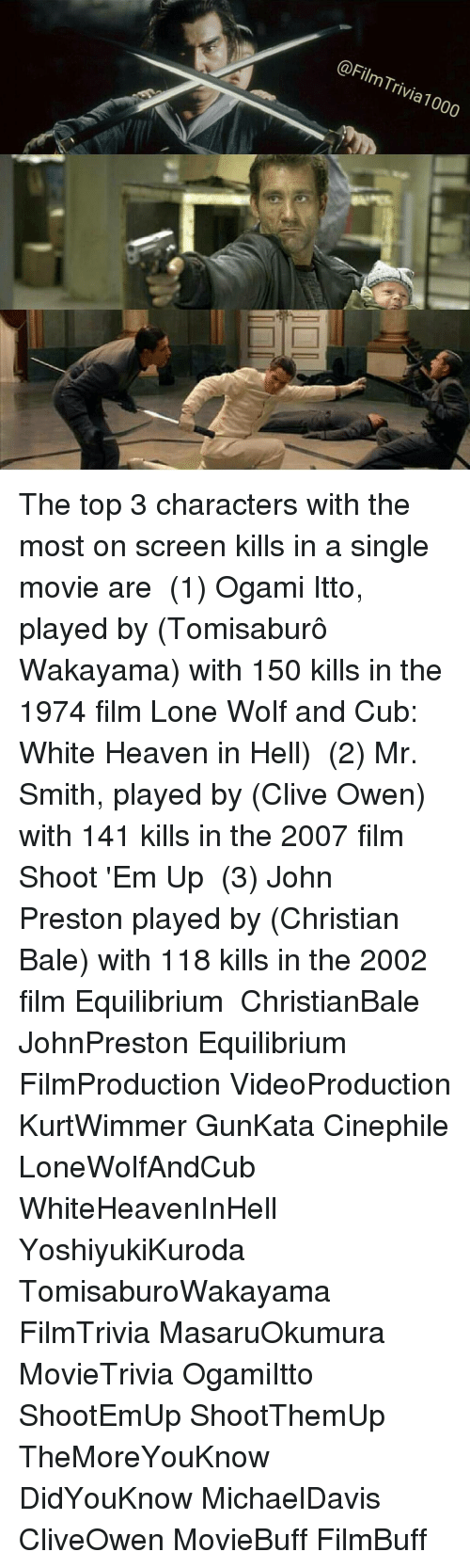 wakayama christian singles Top 10 highest body count action movie characters in this amazing sci-fi movie christian bale wiped out it has to be ogami itto played by tomisaburo wakayama.