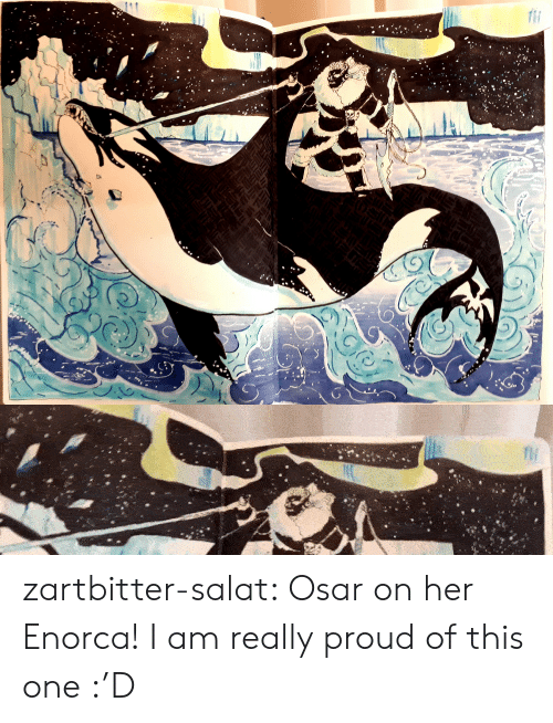 fim: fIM zartbitter-salat:  Osar on her Enorca! I am really proud of this one :'D