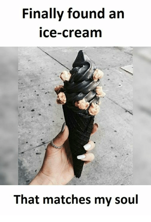 Ice Cream, Cream, and Ice: Finally found an  ice-cream  That matches my soul