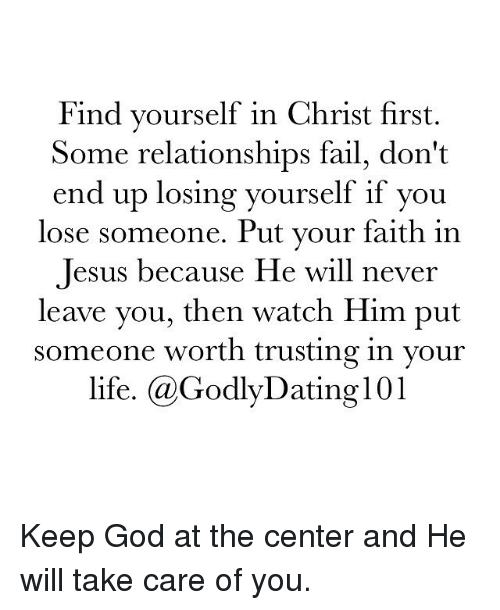 Dating someone outside your faith