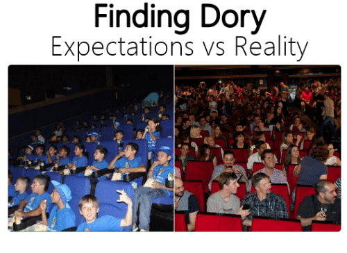 dating expectations vs reality In this post, take a look at these photos of expectation versus reality and have a good laugh because you know it's true #1 tweety's not looking so chipper reddit #2 what you ordered vs.