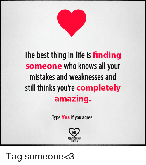 You Re All Amazing: Finding The Best Thing In Life Is Someone Who Knows All