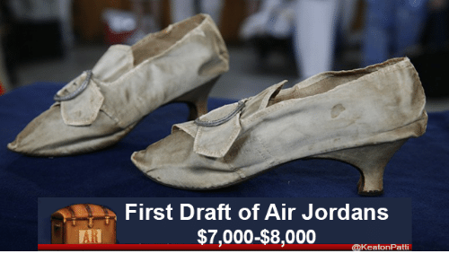 Jordans, Air, and Air Jordans: First Draft of Air Jordans  AR  @KeatonPatti