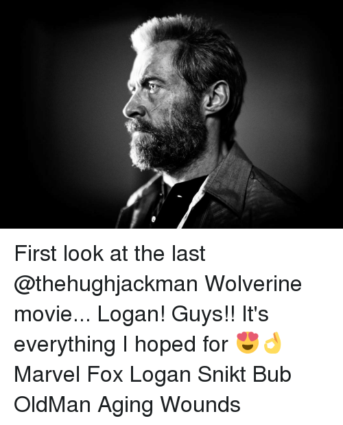 First Look at the Last Wolverine Movie Logan! Guys!! It's