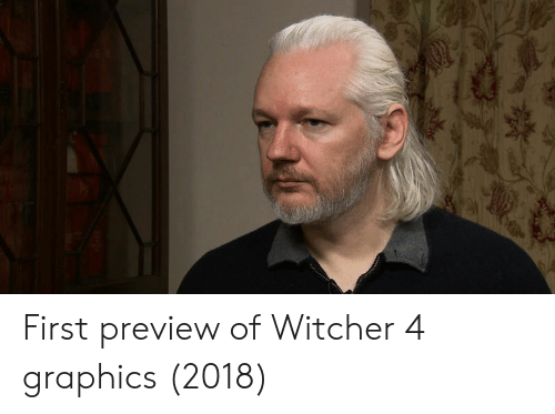 Witcher 4: First preview of Witcher 4 graphics (2018)