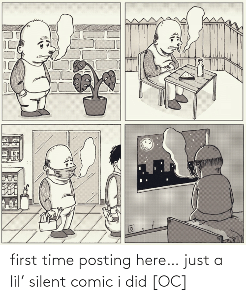 lil: first time posting here… just a lil' silent comic i did [OC]