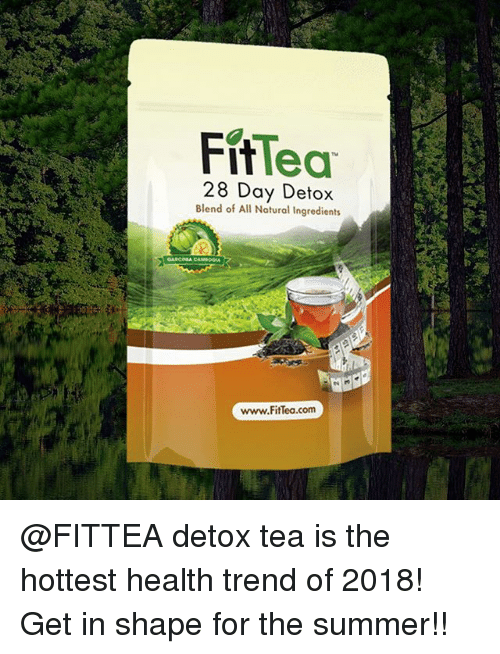 Fit Lea 28 Day Detox Blend of All Natural Ingredients