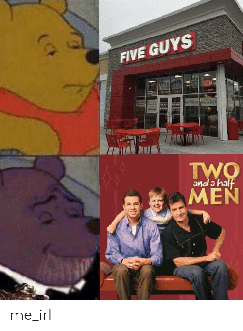 a-ha: FIVE GUYS  NOW PEN  and a ha me_irl