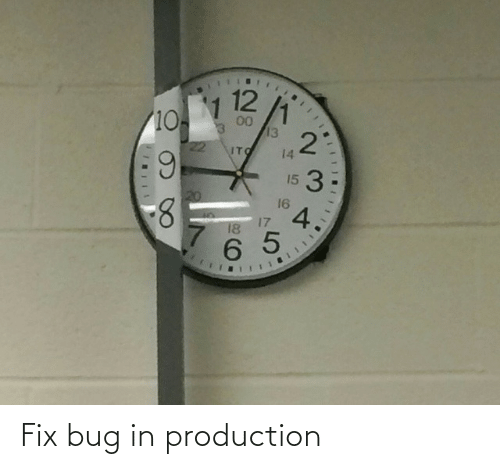 Fix: Fix bug in production