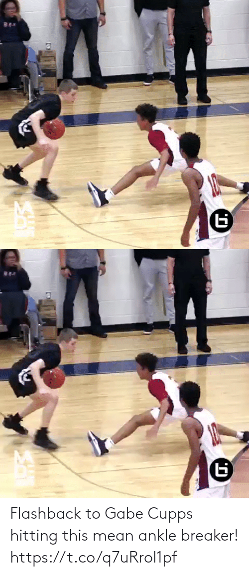 Gabe: Flashback to Gabe Cupps hitting this mean ankle breaker! https://t.co/q7uRrol1pf
