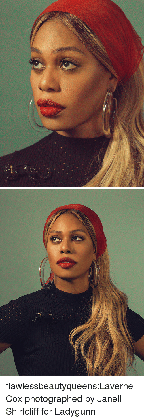 Janell: flawlessbeautyqueens:Laverne Cox photographed byJanell Shirtcliff for Ladygunn
