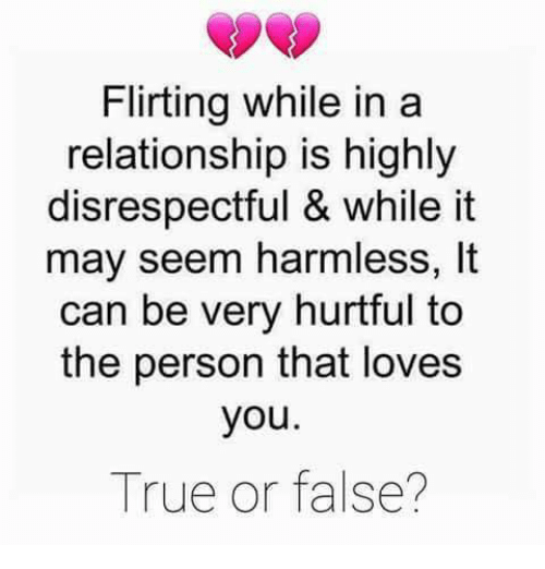 story does flirting equal infidelity