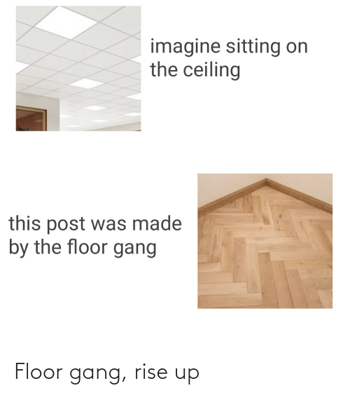 rise up: Floor gang, rise up