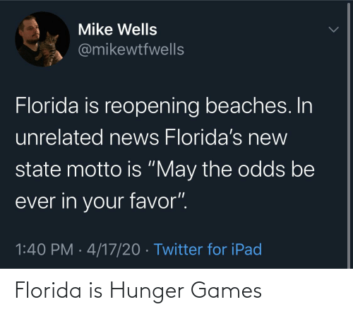 The Hunger Games: Florida is Hunger Games