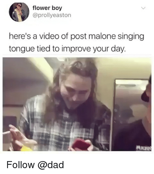 Post Malone Dad: 25+ Best Memes About Post Malone