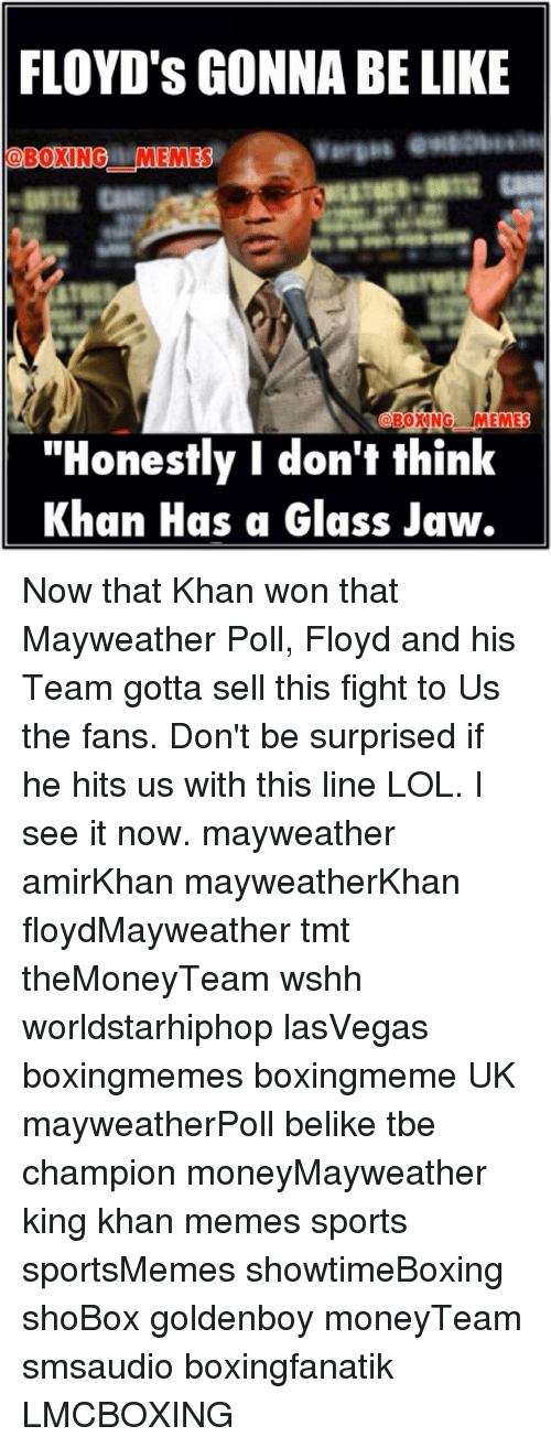 FLOYD'S GONNA BE LIKE BOXING MEMES BOXING MEMES Honestly I ...