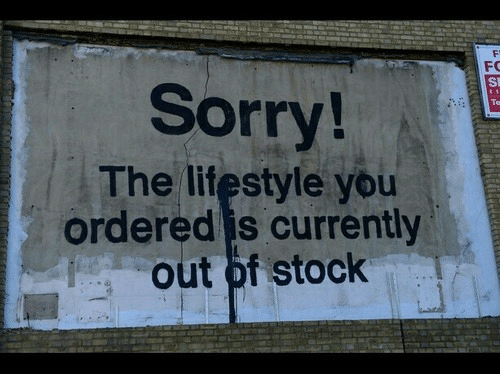 Out Of Stock: FO  Sorry  The lifestyle you  ordered is currently  out of stock