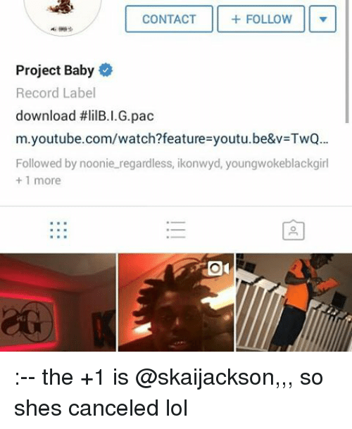 FOLLOW CONTACT Project Baby Record Label Download #Lil ...