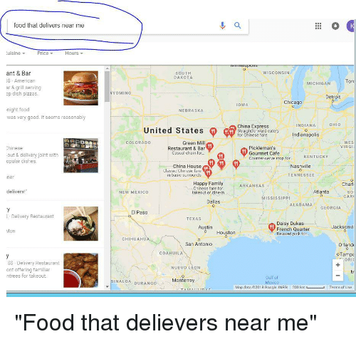 Delivery Food San Antonio Near Me