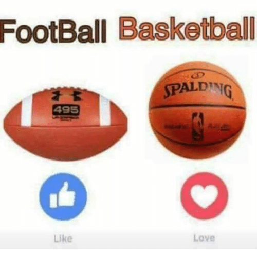 Basketball and Funny: FootBall Basketball  SPALDING  495  Like  Love