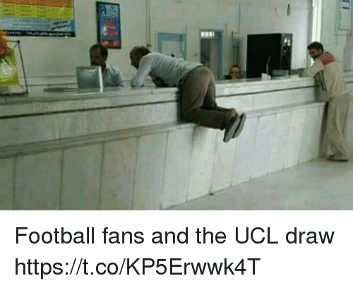 Football, Memes, and 🤖: Football fans and the UCL draw https://t.co/KP5Erwwk4T