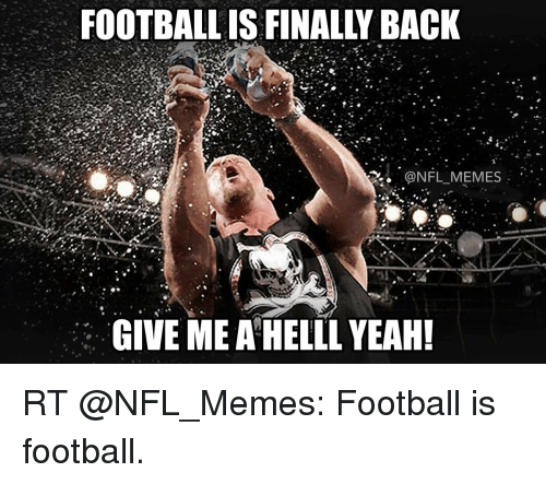 Nfl Football Is Back