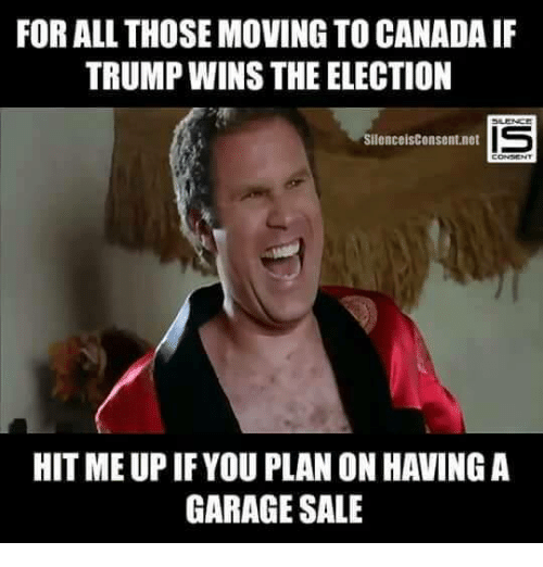 Funny Yard Sale Meme : Funny moving to canada memes of on sizzle