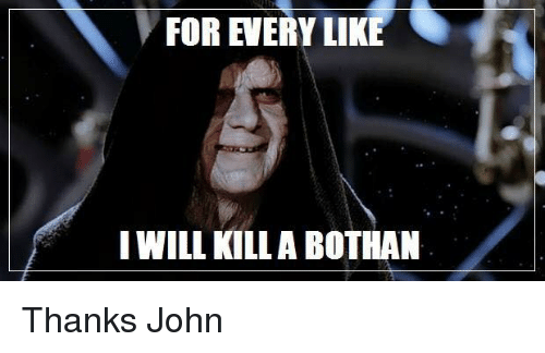 many bothans died meme 28 images barefootdawsy s we