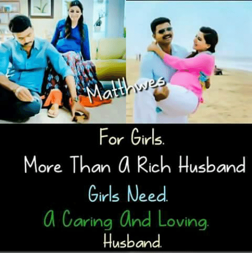 Love Husband: For Girls.  More Than a Rich Husband  Girls Need  a Caring and Loving  Husband.