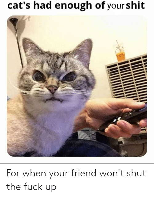 shut-the-fuck: For when your friend won't shut the fuck up
