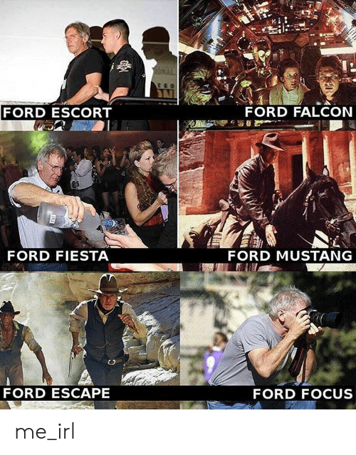 mustang ford: FORD ESCORT  FORD FALCON  FORD FIESTA  FORD MUSTANG  FORD ESCAPE  FORD FOCUS me_irl