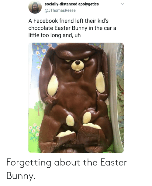 Forgetting: Forgetting about the Easter Bunny.