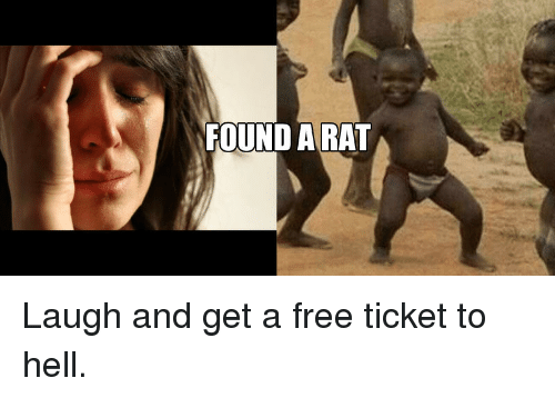 Ticket To Hell: FOUND ARAT <p>Laugh and get a free ticket to hell.</p>