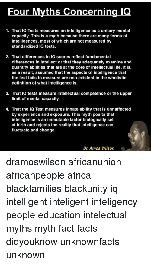 the failure of iq tests in testing intelligence