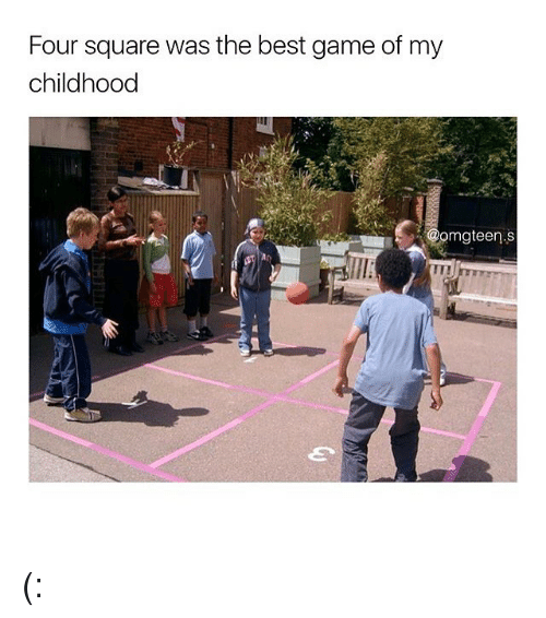 Best Gaming: Four square was the best game of my  childhood  mgteen.S (: