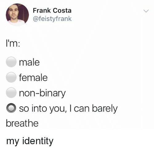 how to know if you re non binary quiz