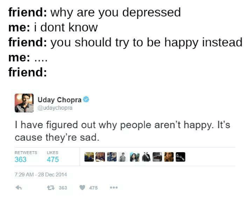 how to know your depressed