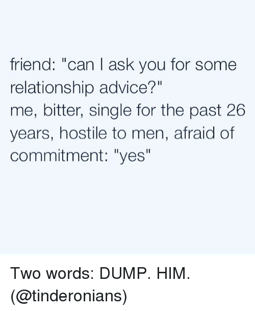 ask men for dating advice