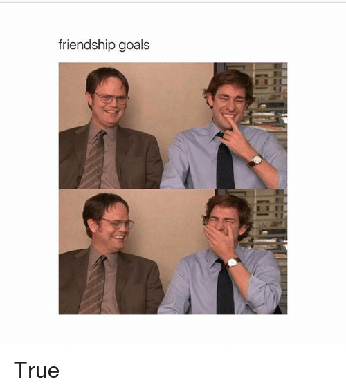 Friendship Goals True Goals Meme On Sizzle