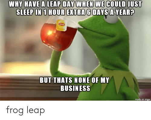 Frog and  Leap: frog leap