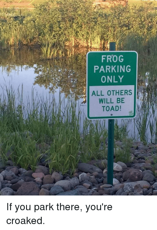 frog-parking-only-all-others-will-be-toa