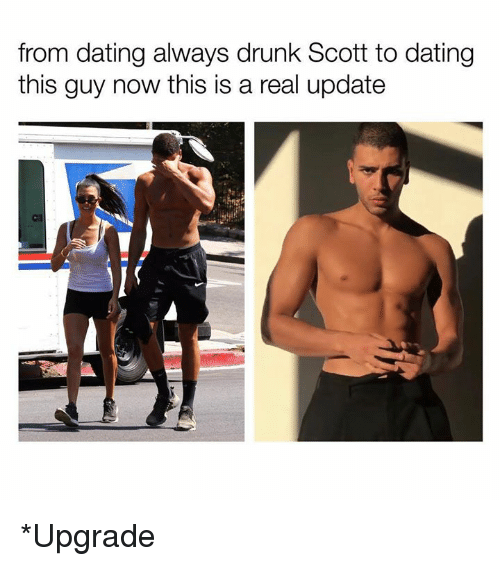 Dating, Drunk, and Kardashian: from dating always drunk Scott to dating  this guy now this is a real update *Upgrade