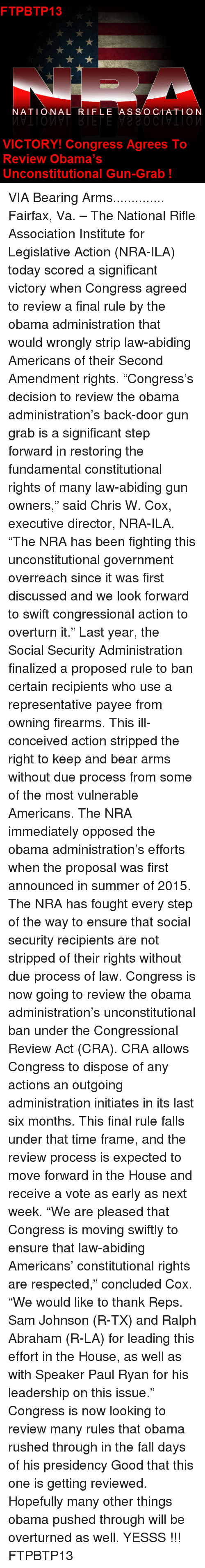 the use of tone and persuasion to influence the audience on the issue of gun control in the nra pres